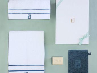 BAILET - coffret cadeau léman - linge de bain - - bleu lag - Towel Set
