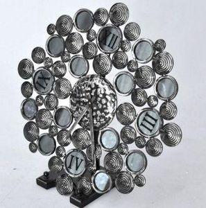 Demeure et Jardin - pendule gallets - Antique Clock