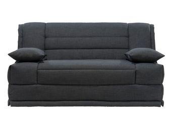 WHITE LABEL - banquette-lit bz matelas hr 160 cm - speed capy - - Reclining Sofa