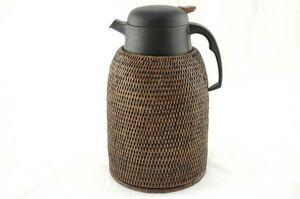 BaolgiChic - rotin blanc - Thermal Coffee Pot