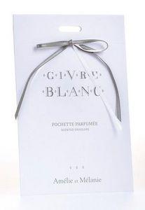 Amelie et Melanie - givre blanc - Perfumed Sachet