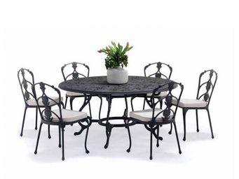 Oxley's - barrington-- - Round Garden Table