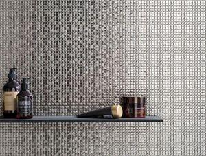 Porcelanosa Groupe - bombay silver - Mosaic Tile Wall