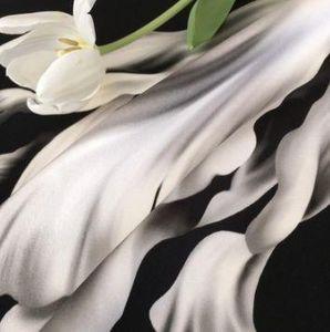 ELLIE - tulipe noire - Fabric By The Metre