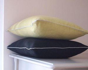 nuance pivoine - jade argenté - Square Cushion