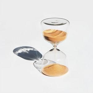 &klevering - sand timer gold 15 min - Hourglass