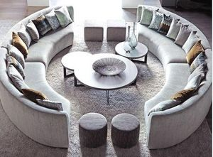 Ph Collection - cross - Round Coffee Table
