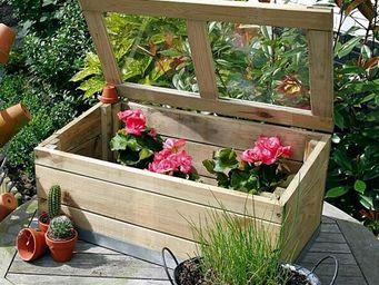 CEMONJARDIN - serre en bois modèle rimini - Garden Greenhouse