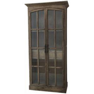 CHEMIN DE CAMPAGNE - style ancienne grande bibliothèque armoire vitrée  - Bookcase