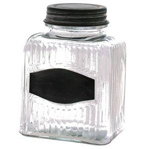 CHEMIN DE CAMPAGNE - bocal bonbonnière de style ancien en verre de cuis - Jar