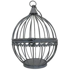 CHEMIN DE CAMPAGNE - boule cage porte bougie porte plante à suspendre 2 - Outdoor Lantern