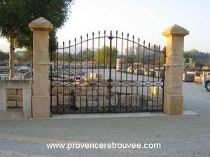 Provence Retrouvee - pil35-240p--p-pm-nt - Gate Pillar