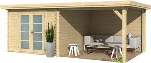 jardindeco - abri de jardin en bois aubrac - Wood Garden Shed
