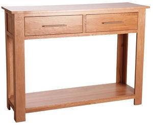 Aubry-Gaspard - console en chêne massif - Console Table