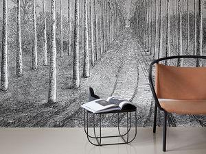 INKIOSTRO BIANCO - palmeraie - Panoramic Wallpaper