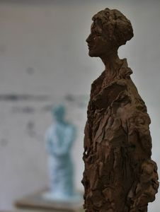 SYLVIE FALCONNIER -  - Bust Sculpture