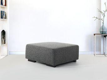 BELIANI - ottoman - Armchair And Floor Cushion