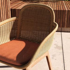 Kettal - vimini - Garden Armchair