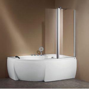 ITAL BAINS DESIGN - k715 - Corner Whirlpool Bath