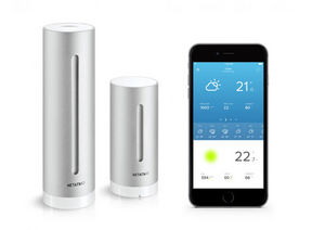 NETATMO - intelligente - Weather Clock