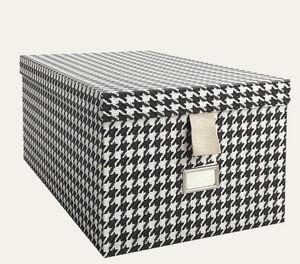 Tassotti - pied de poule nero - Storage Box