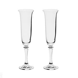 ROYAL SCOT CRYSTAL -  - Champagne Flute