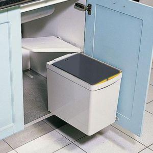 Swivel kitchen dustbin