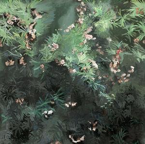 Lizzo - wild garden 05 - Wallpaper