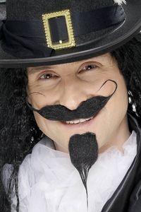 False mustache