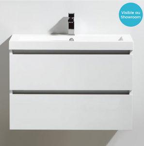 Thalassor - city 80 bianco - Vanity Unit