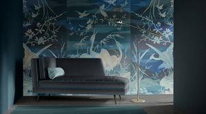 QUINSAÏ Wallcovering® - grue-he-shou - Panoramic Wallpaper