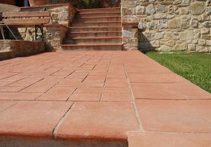 Enzo Zago - terre cuite - Outdoor Paving Stone