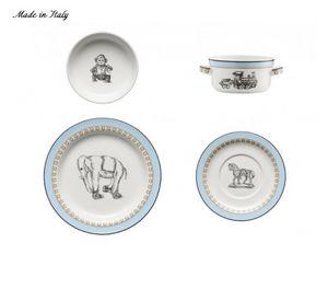 Richard Ginori 1735 - bébé cucù bleu - Child's Crockery Set
