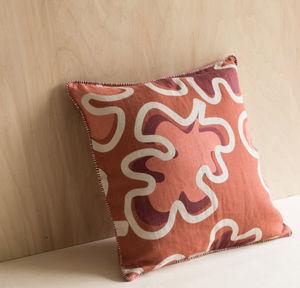 GABRIELLE PARIS - leaves - Square Cushion