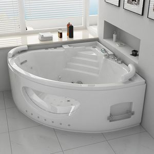 DISTRIBAIN -  - Corner Whirlpool Bath