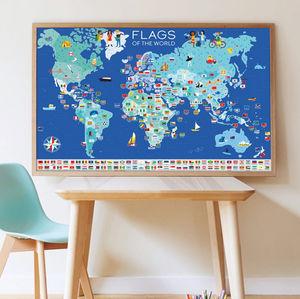 POPPIK - drapeaux du monde - Educational Games