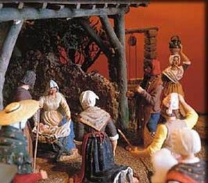 Santons Marcel Carbonel -  - Christmas Figurine
