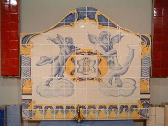 Ceramiques du Beaujolais - azulejos carrelage émaillé - Ceramic Tile