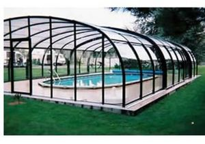 Snsas Swim All Seasons - haut - Freestanding Pool Enclosure