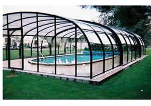 Snsas Swim All Seasons - haut - Freestanding Pool Enclosure
