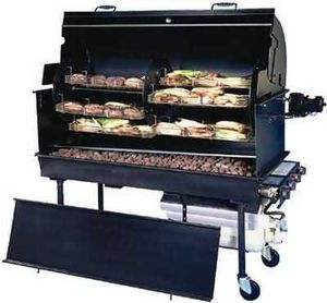 Belson - corn & potato roaster - Gas Fired Barbecue