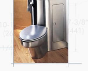 Neo-Metro -   - Wall Mounted Toilet