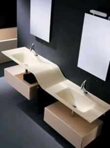 EUROLEGNO - volo - Washbasin Counter