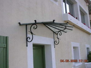 Basset Ferronnerie Freres -  - Marqee (awning)
