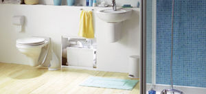 Blanc Saniflo -  - Wall Mounted Toilet