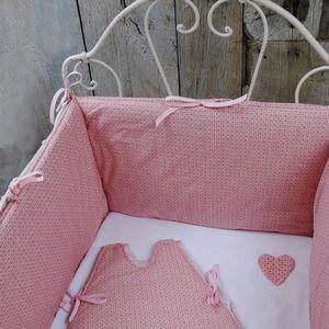 Balade En Roulotte - tour de lit gourmandise - Crib Bumper Pad