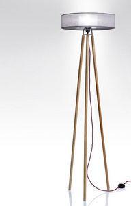 Anne-Marie Zahar - nonne écru - Trivet Floor Lamp
