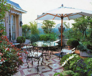 Horticulture Et Jardin -  - Decked Terrace