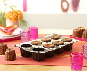 Cake En Stock - plaque 8 cannelés bordelais - Cannele Pan