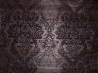 PIETRO SEMINELLI - abaca noir gaufré - Upholstery Fabric